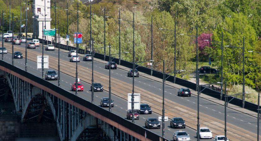 NEWS, Najnowsze pomiary ruchu warszawskich mostach - zdjęcie, fotografia