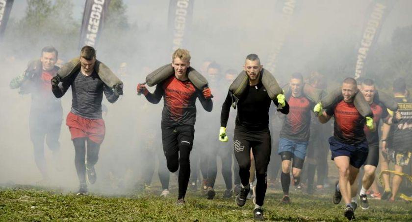 Biegi - maratony, Runmageddon Warszawa Urzecze Karczew [ZDJĘCIA] - zdjęcie, fotografia
