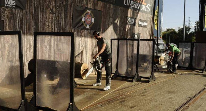 Imprezy, Wydarzenia, Mistrzostwa Polski Stihl Timbersports odbyły Warszawie [ZDJĘCIA] - zdjęcie, fotografia