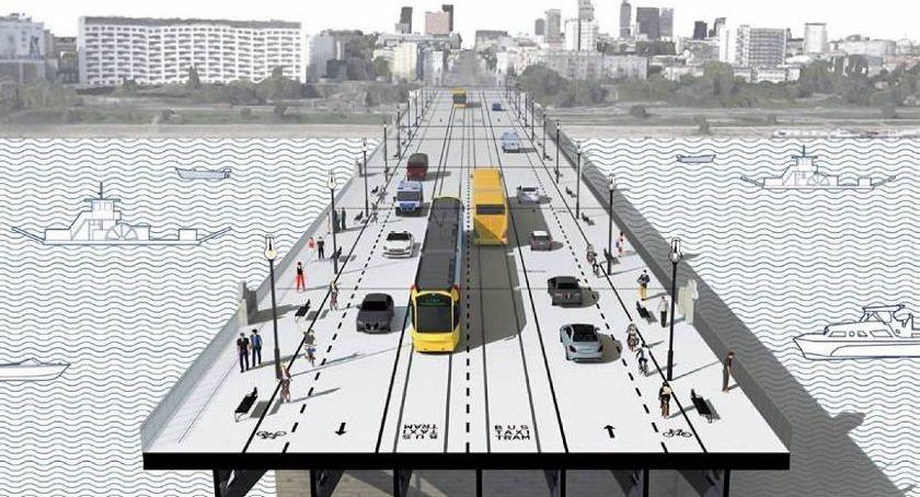 Ulice – place , przebudowy mostu niegospodarność absurd - zdjęcie, fotografia