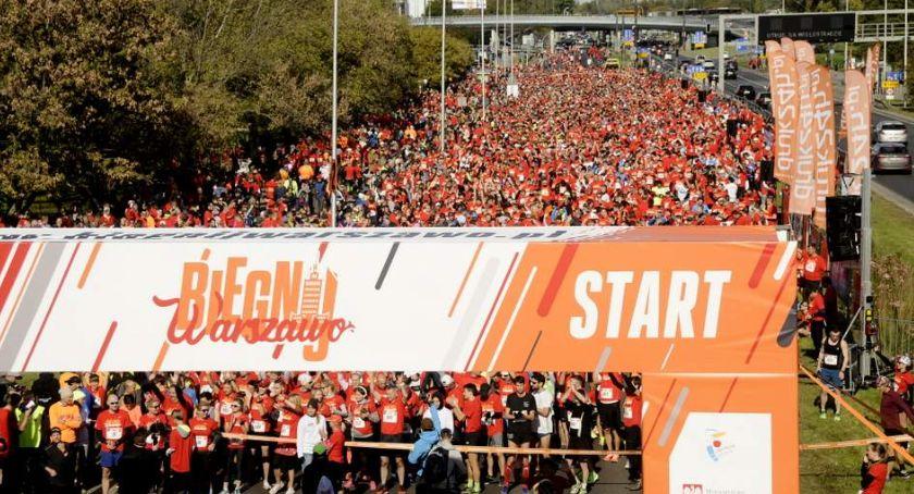 Biegi - maratony, Biegnij Warszawa [ZDJĘCIA] - zdjęcie, fotografia