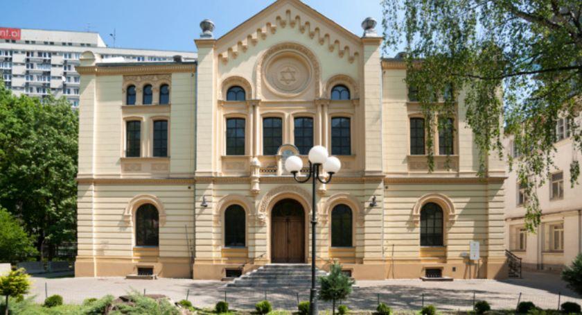 Historia Warszawy, Spacer Synagodze Nożyków okolicy - zdjęcie, fotografia