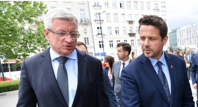 Polityka, Warszawa Poznań stają konkurencji najwyższą frekwencję wyborczą wolnej Polsce! - zdjęcie, fotografia