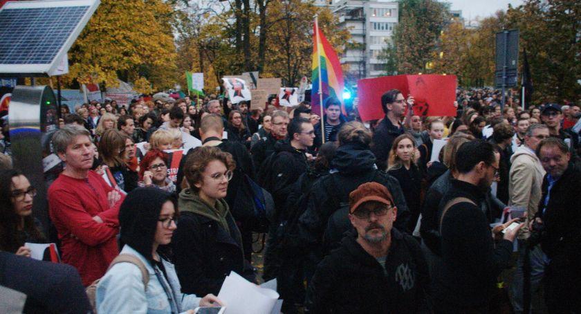 Protesty i manifestacje, JesieńŚredniowiecza Chcemy edukacji indoktrynacji! [ZDJĘCIA] - zdjęcie, fotografia