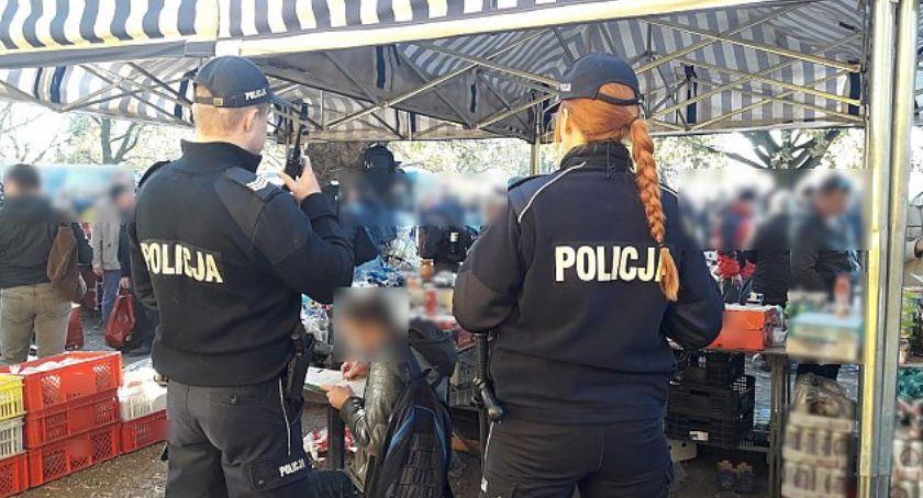 Bezpieczeństwo, Handel kiepskimi produktami Policja zrobiła porządek - zdjęcie, fotografia