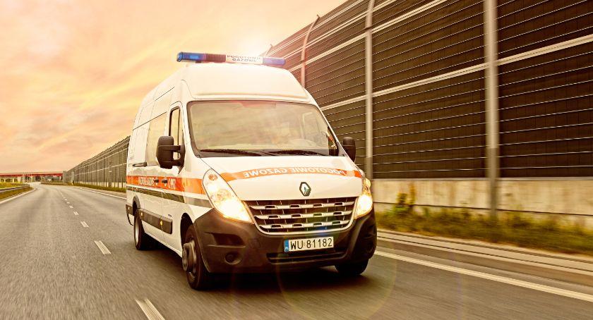 Bezpieczeństwo, Miedzyszyński uszkodzona gazem - zdjęcie, fotografia