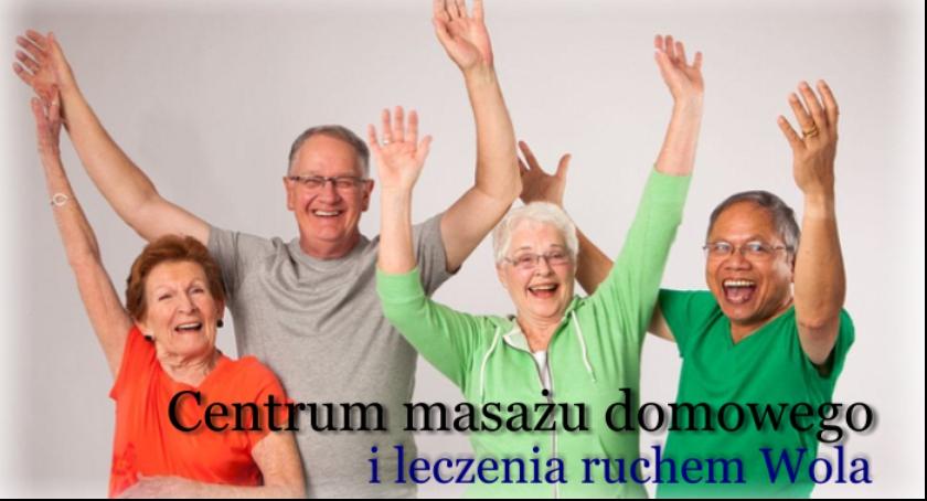 Zdrowie, Pomoc osób starszych ćwiczenia masaż - zdjęcie, fotografia