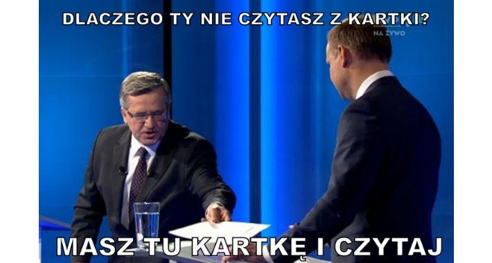 Polityka, debacie prezydenckiej - zdjęcie, fotografia