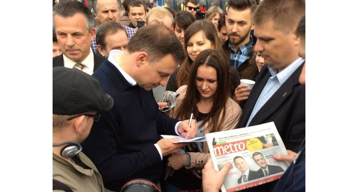 Polityka, Prezydent elekt mieszkańcami warszawy! - zdjęcie, fotografia