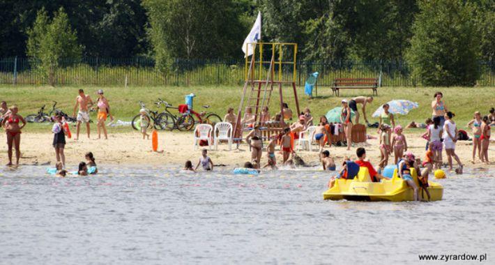 Sport, Legalne kąpieliska Mazowszu - zdjęcie, fotografia