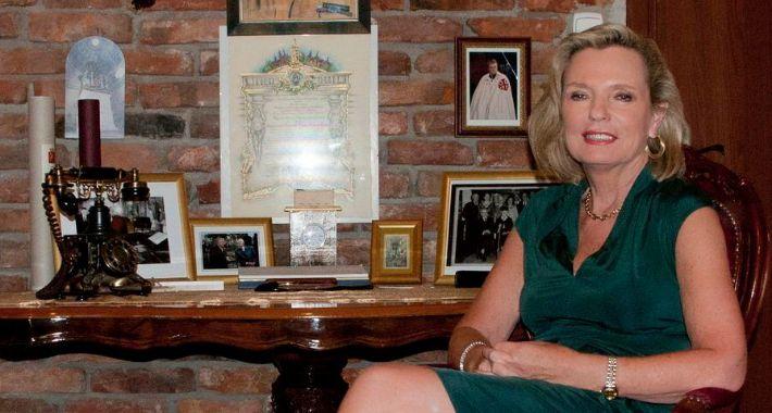 Polityka, Córka Generała Andersa Maria Anders wkracza scenę - zdjęcie, fotografia