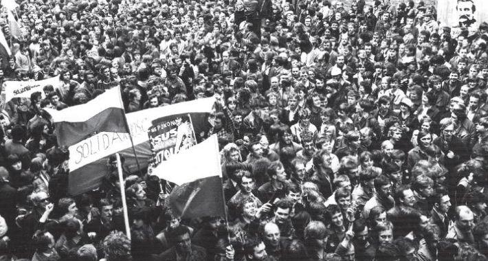 Historia Warszawy, Wydarzenia sierpniowe oczyma młodego opozycjonisty - zdjęcie, fotografia