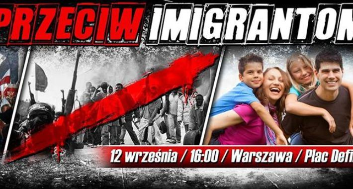 Polityka, Urząd miasta wydał zgody manifestację Polacy przeciw imigrantom - zdjęcie, fotografia