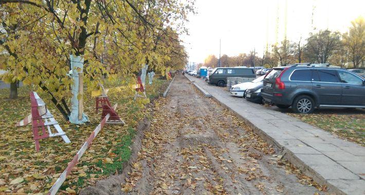 Rower, ścieżka rowerowa Łukowskiej Grochowie potrzebna - zdjęcie, fotografia