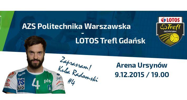 Siatkówka, Wygraj bilety Politechnika Warszawska Lotos Trefl Gdańsk - zdjęcie, fotografia