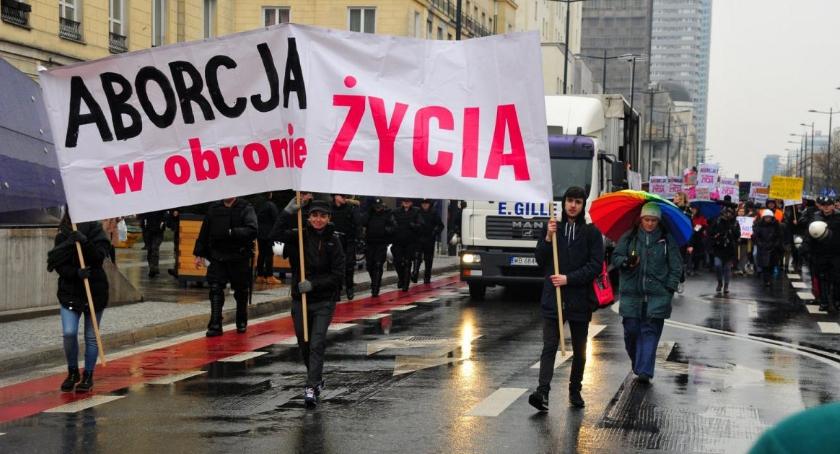 Organizacje NGO , Warszawska Manifa Aborcja Obronie Życia - zdjęcie, fotografia