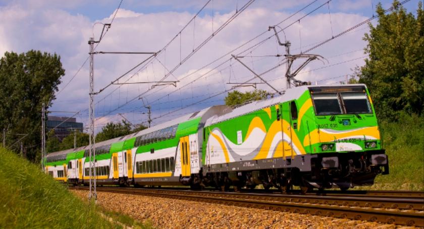 Koleje Mazowieckie, Utrudnienia kursowaniu pociągów - zdjęcie, fotografia