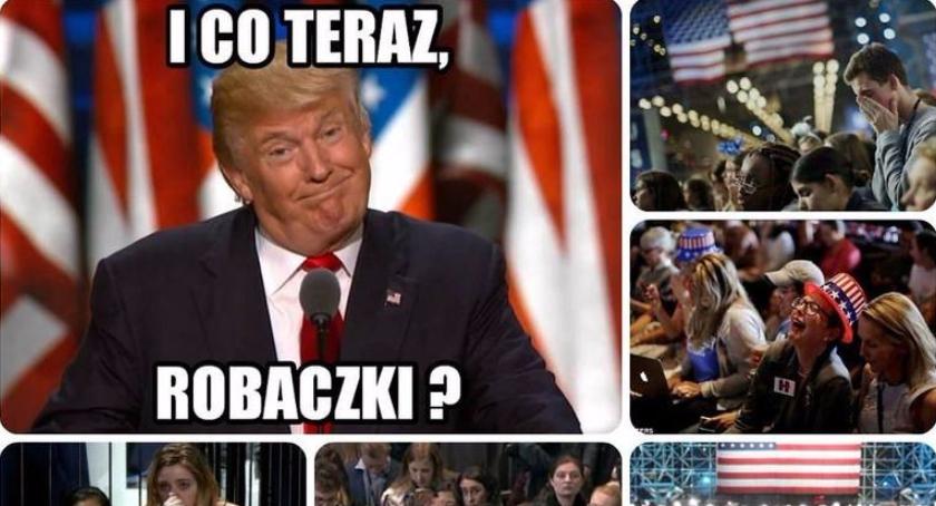 Polityka, Donald Trump prezydentem [memy] - zdjęcie, fotografia