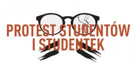Antyrządowa manifestacja studentów