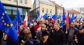 Marsz dla Europy przeszedł przez Warszawę
