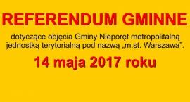 Kolejne referendum w sprawie MegaWarszawy - 14 maja w Nieporęcie