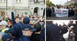 Obywatele RP próbowali zablokować miesięcznice smoleńską. Interweniowała policja