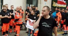 Ratownicy medyczni protestowali dzisiaj w Warszawie