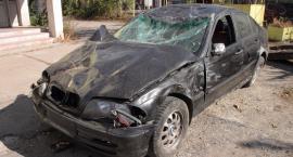 Śmiertelny wypadek na Targówku. Kierowca BMW nie żyje