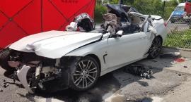 Tragiczny wypadek na Zabranieckiej - zdjęcia straży