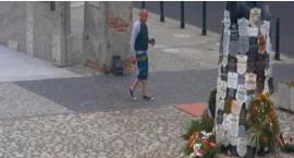 Poszukiwany za zdewastowanie tablic na Pawiaku