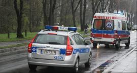 Na skrzyżowaniu ulic Czerniakowskiej i Chełmskiej zderzyły się dwa auta
