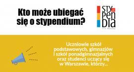 Stypendia dla uczniów i studentów z Warszawy!