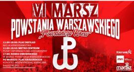 """""""Powstańcza Krew"""" VI Marsz Powstania Warszawskiego"""