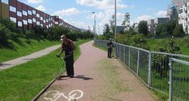 Wielkie porządki na ścieżkach rowerowych w mieście