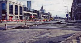 Remont torów przy Pl. Starynkiewcza. II etap prac rozpoczyna się dzisiaj