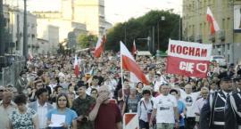 Marsz Woli - uczcili pamięć poległych w Powstaniu Warszawskim