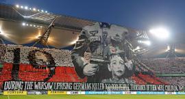 UEFA pozwała Legię Warszawa za powstańczą oprawę na stadionie