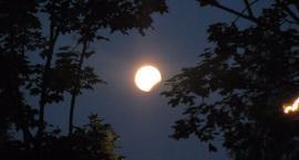 Zaćmienie Księżyca nad Warszawą