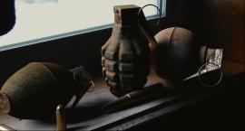 Bomba lotnicza oraz 134 granaty moździerzowe znalezione przez policjantów z CBŚ