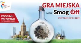 Misja SmogOff - nowa gra miejska od 16 września!