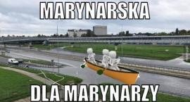 Marynarska znowu zalana – internauci jak zawsze nie zawiedli! Zobacz galerię najlepszych memów!