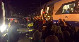 Zderzenie autokaru z Pendolino. Najnowsze informacje i zdjęcia straży