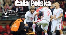 Polska wygrywa z Czarnogórą i jedzie na Mistrzostwa Świata [MEMY]