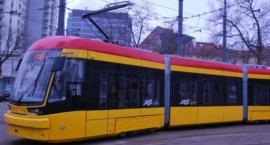 Awaria tramwaju przy placu Grunwaldzkim