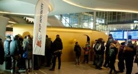 Złoty Pociąg na Dworcu Centralnym - zdjęcia