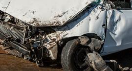 Dachowanie samochodu pod Warszawą