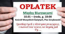 Międzykorporacyjny opłatek na placu Grzybowskim