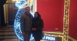 Klaudia i Ariel zwiedzają świąteczną stolicę