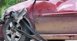 Zderzenie tira i trzech samochodów osobowych na S8
