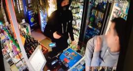 Napad z bronią w ręku na sklep przy Targowej. Policja szuka sprawcy